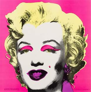 Andy Warhol  Marilyn (Announcement)