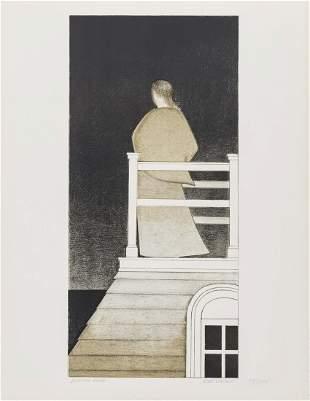 Will Barnet (1911-2012)  Widow's Walk