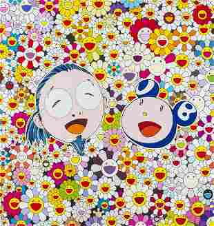 Takashi Murakami (b.1962)  Me and Mr. DOB