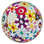 Takashi Murakami (b.1962) Flowerball Sexual Violet No1