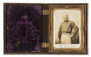 "Garibaldi (Giuseppe) Photograph portrait signed ""G"