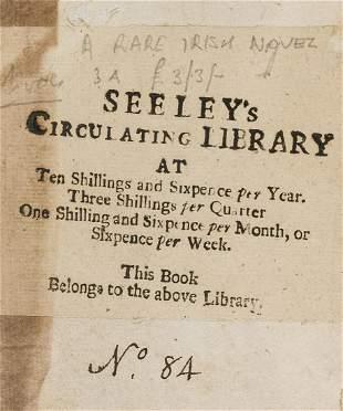 Irish Novel.- [Chaigneau (William)] The History of Jack