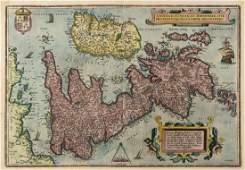 British Isles.- Ortelius (Abraham) Angliae, Scotiae, et