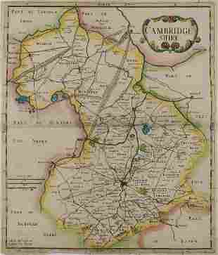 British Isles.-  Collection of over 45 maps of counties
