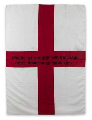 δ Banksy (b.1974) People Who Enjoy Waving Flags