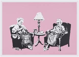 δ Banksy (b.1974)  Grannies