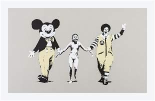 ** δ Banksy (b.1974)  Napalm