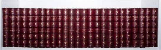 Bindings.- Scott (Sir Walter) Waverley Novels, 25 vol.,
