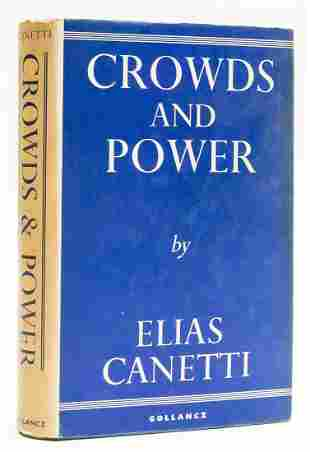Canetti (Elias) Crowds and Power, first English