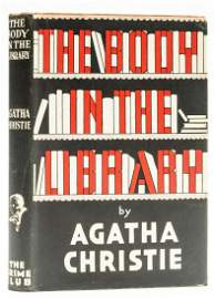 Christie (Agatha) The Body in the Library, first