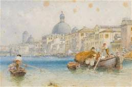 Italy.- Venice.- Foster (Myles Birket) View of the