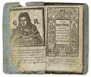 Thumb Bible.- Bible (English) The Holy Bible containing