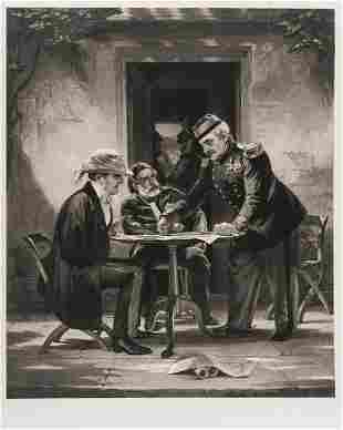 Crimean War.- Bellin (Samuel) [A Council of War], mixed