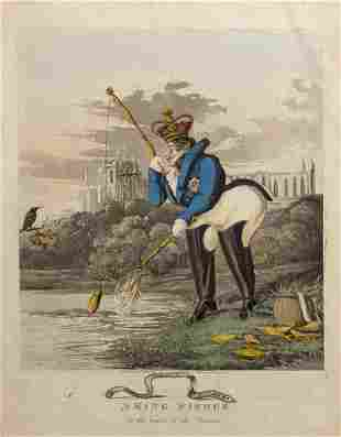 George IV fishing satire.- Williams (Charles) A