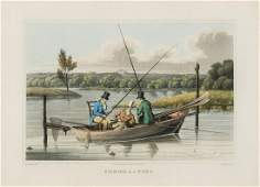 Alken (Henry), after. Salmon Fishing; Fishing in a Punt;