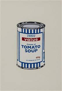 δ Banksy (b.1974) Soup Can