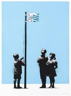 δ Banksy (b.1974) Very Little Helps (Signed)