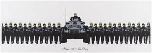 δ Banksy (b.1974) Have a Nice Day