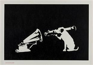 δ Banksy (b.1974) HMV (DN)