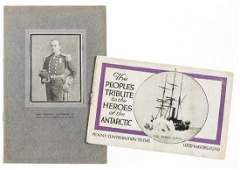 Polar.- Evans (Commander Edward) Souvenir of Lecture: