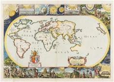 World.- Moxon (Joseph) A Mapp of all the Earth. And how