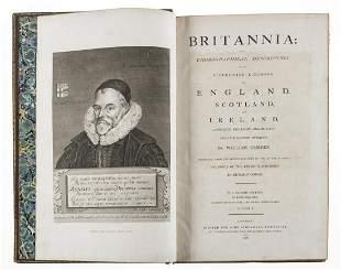 Britain.- Camden (William) Brittania: Or a