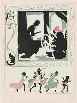 Rackham (Arthur).- Evans (C. S.) The Sleeping Beauty,