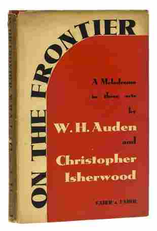 Auden (W.H.) and Christopher Isherwood. On the