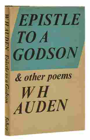 Auden (W.H.) Epistle to a Godson, first edition, signed
