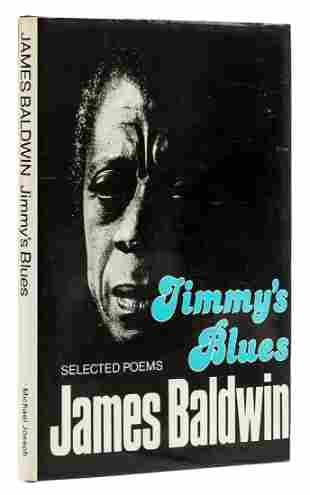 Baldwin (James) Jimmy's Blues. Selected Poems, first
