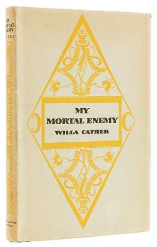 Cather (Willa) My Mortal Enemy, first edition, signed