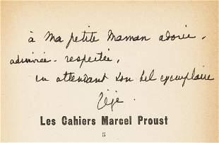 Daudet (Lucien) Autour de soixante lettres de Marcel