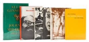 Ginsberg (Allen) Indian Journals, first edition, signed