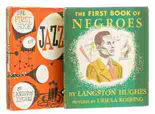 Hughes (Langston) The First Book of Negroes, first