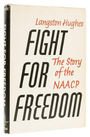 Hughes (Langston) Fight for Freedom. The Story of the