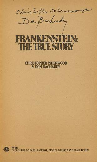 Isherwood (Christopher) and Don Bachardy, Frankenstein:
