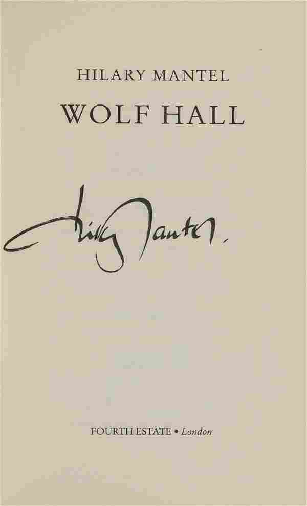 Mantel (Hillary) Wolf Hall, first edition, signed by