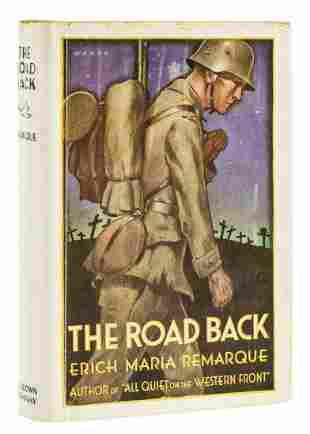 Remarque (Erich Maria) The Road Back, first American