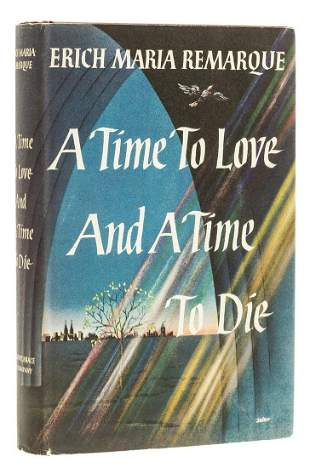 Remarque (Erich Maria) A Time to Love and a Time to