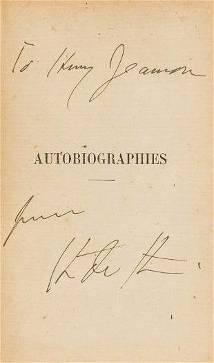 Stein (Gertrude) Autobiographies, translated by Baronne