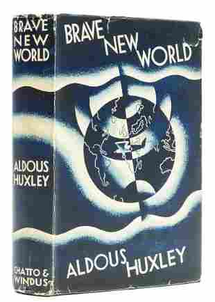 Huxley (Aldous) Brave New World, first edition, with