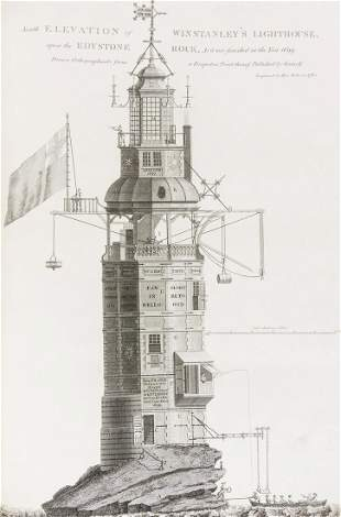 Lighthouses.- Smeaton (John) A Narrative of the