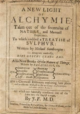 Sendivogius (Michael) A New Light of Alchymie...to