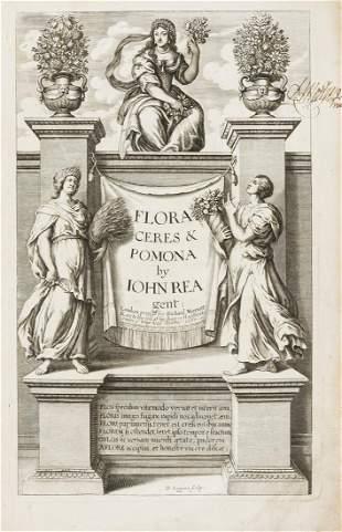 Gardens.- Rea (John) Flora: seu, de Florum Cultura. or,