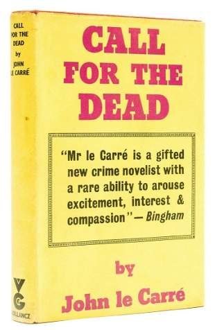 Le Carré (John) Call for the Dead, first edition,
