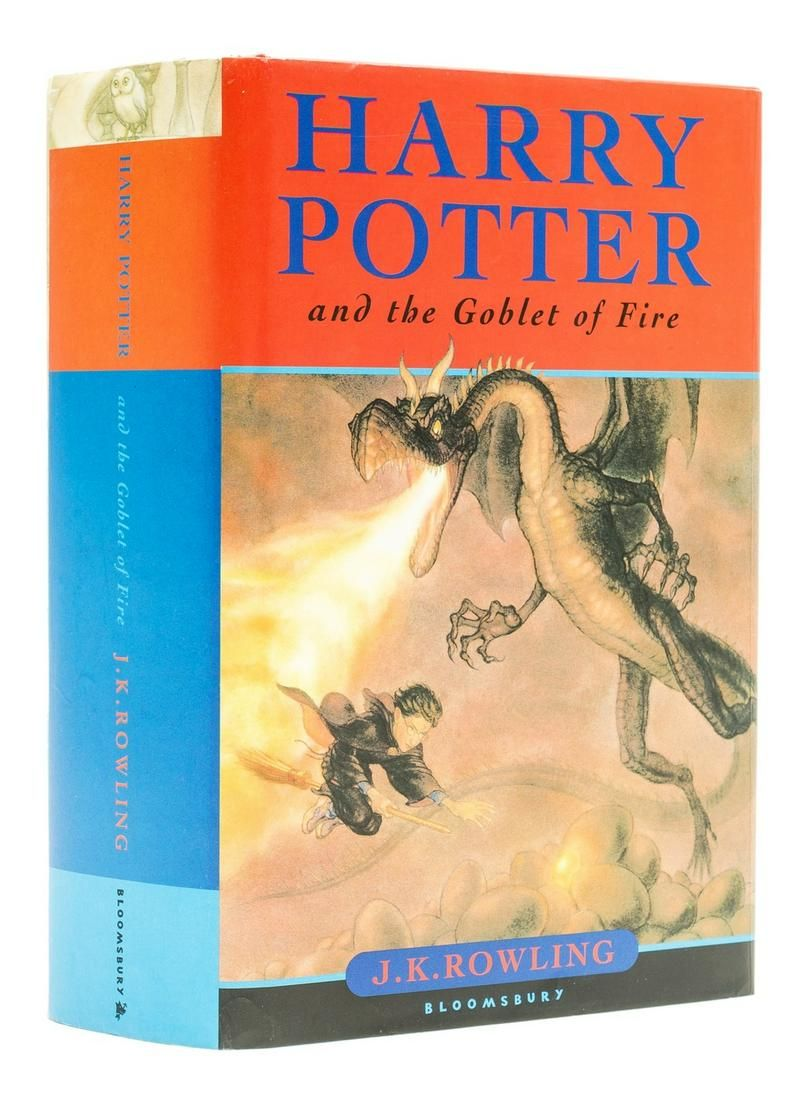 Rowling (J.K.) Harry Potter and the Goblet of Fire,