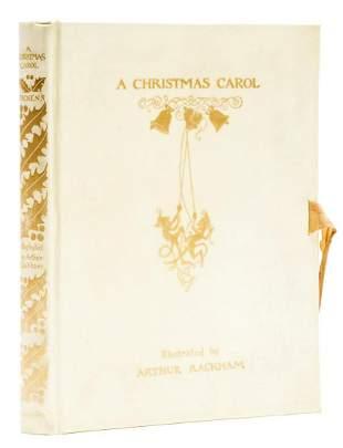 Rackham (Arthur).- Dickens (Charles) A Christmas Carol,