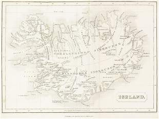 Iceland & Greenland.- [Nicol (James)] An historical and