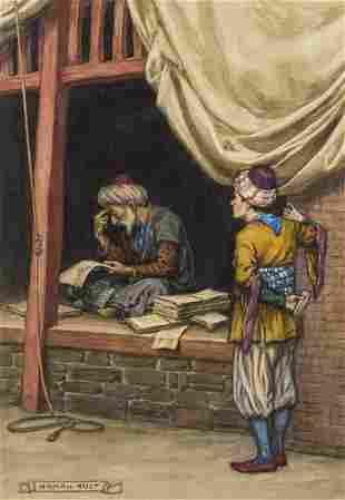 Middle East.- Original illustration.- Ault (Norman)