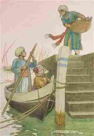 """Middle East.- Original illustration.- Ault (Norman) """"We"""